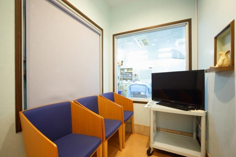 手術を観覧できるスペース